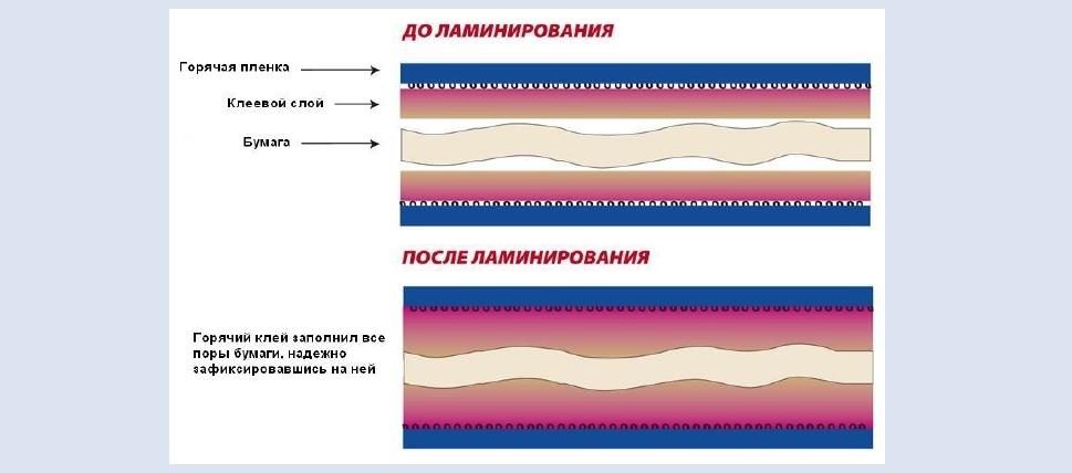 Отличия холодного ламинирования от горячего